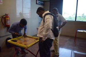 அரும்பக்கம் மெட்ரோ ரயில் நிலையத்தில் மாதாந்திர பாரம்பரிய விளையாட்டு நிகழ்வு.